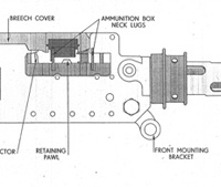 Browning 303 Mk II machine gun general arrangement thumbnail